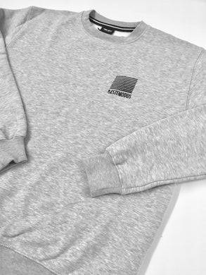 Beste Modus Small Embroidered Logo Sweater (Grey)