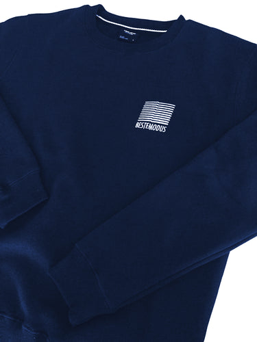 Beste Modus Small Embroidered Logo Sweater (Navy)