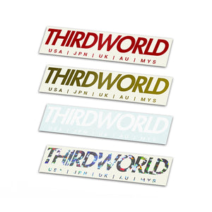 Thirdworld Countries Decal