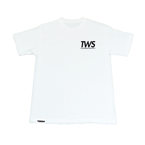 TWS Vertical Tee - White