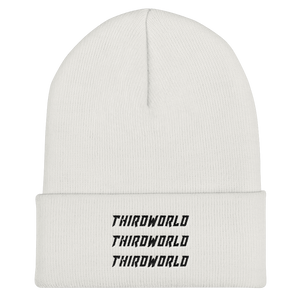 x3 Thirdworld Beanie - White