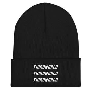 x3 Thirdworld Beanie - Black