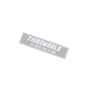 Flags Slap Sticker - Grey