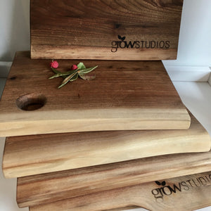 Growstudio Walnut Cheese Board