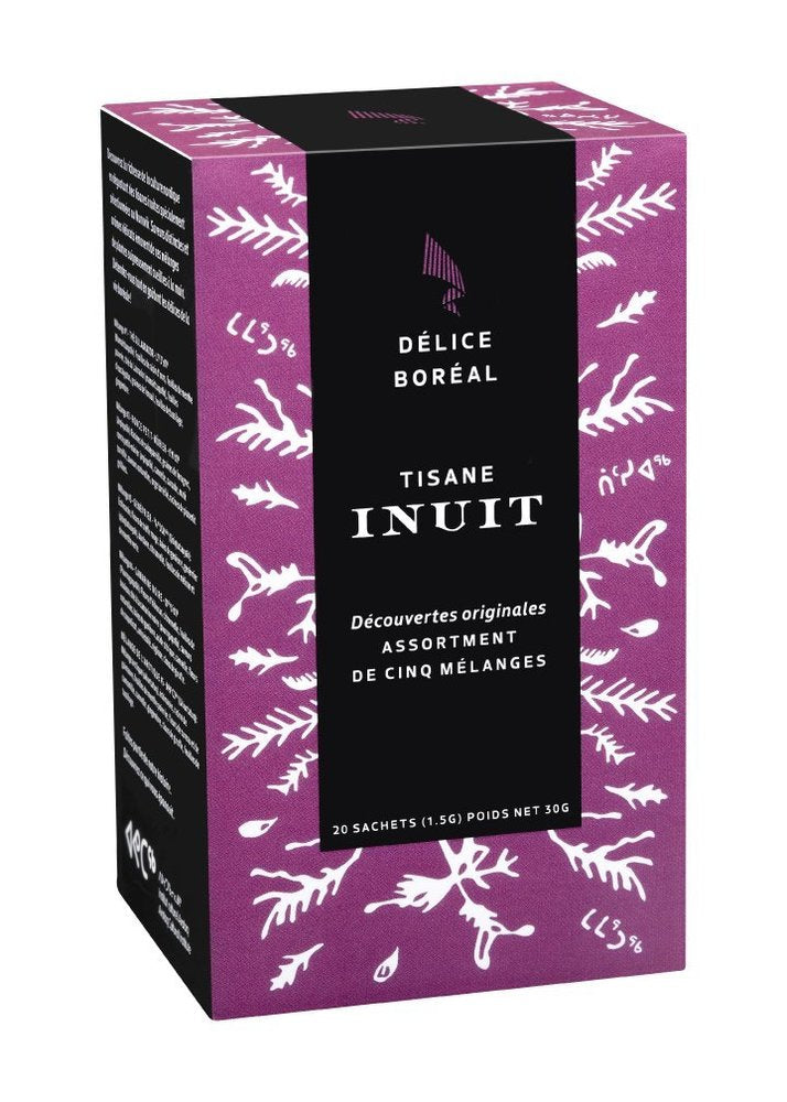 Inuit Herbal Teas Assorted Flavours - Tisane Inuit