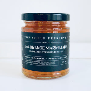 Top Shelf Preserves Orange Malmalades