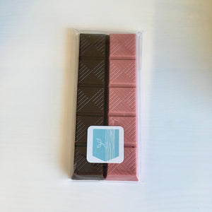 Ruby Chocolate Snack Bar by Anna Stubbe