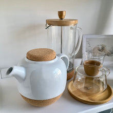 Lauren Porcelain and Cork Teapot