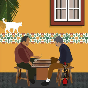 Art Print - Art of Backgammon