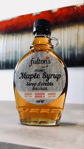 Fulton's Organic Pure Maple Syrup - 250ml Glass Bottle
