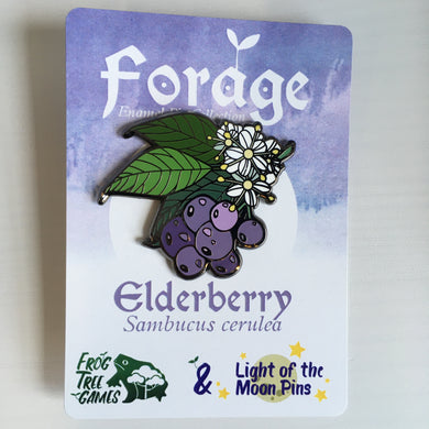 Forage Enamel Pins