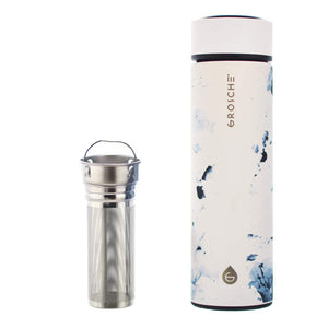 Chicago Marble Infuser Travel Mug