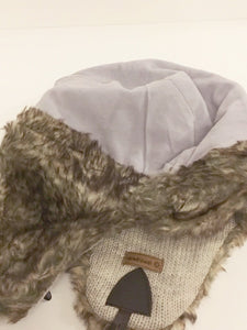 Fairtrade Men's Fleece Lined Wool Hats