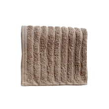 Fairtrade Glo Organic Cotton Stripe Towels - Mushroom
