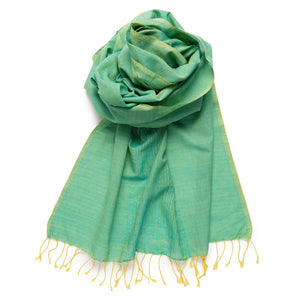 Fairtrade Organic Cotton Scarves - Pop