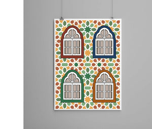 Art Print - Windows