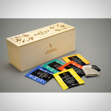 Presentation Wooden Box Inuit Herbal Teas