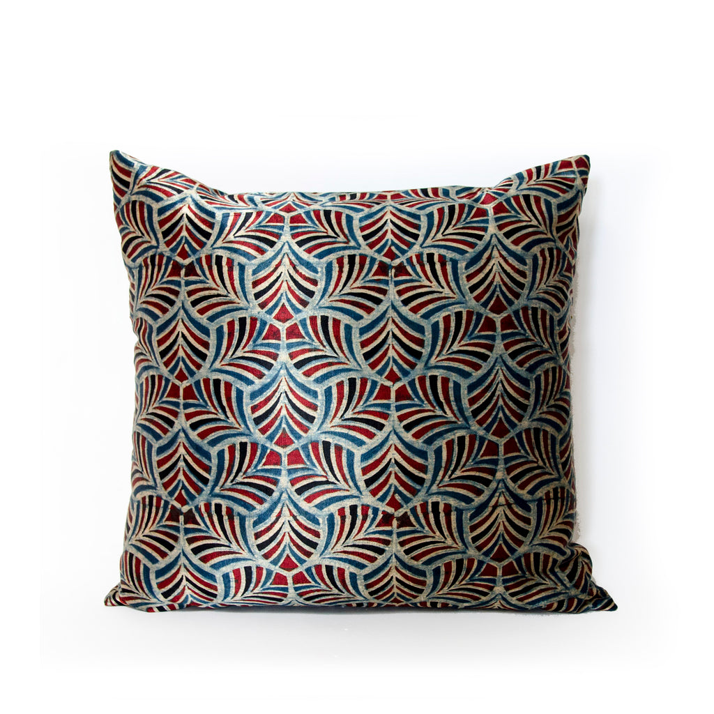 Petals Of Symmetry Pillow