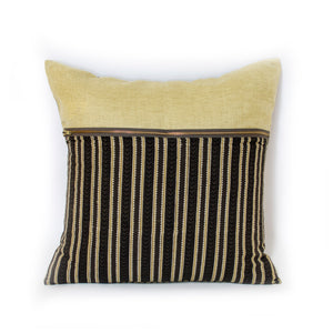 Yellow Stripe Pillow