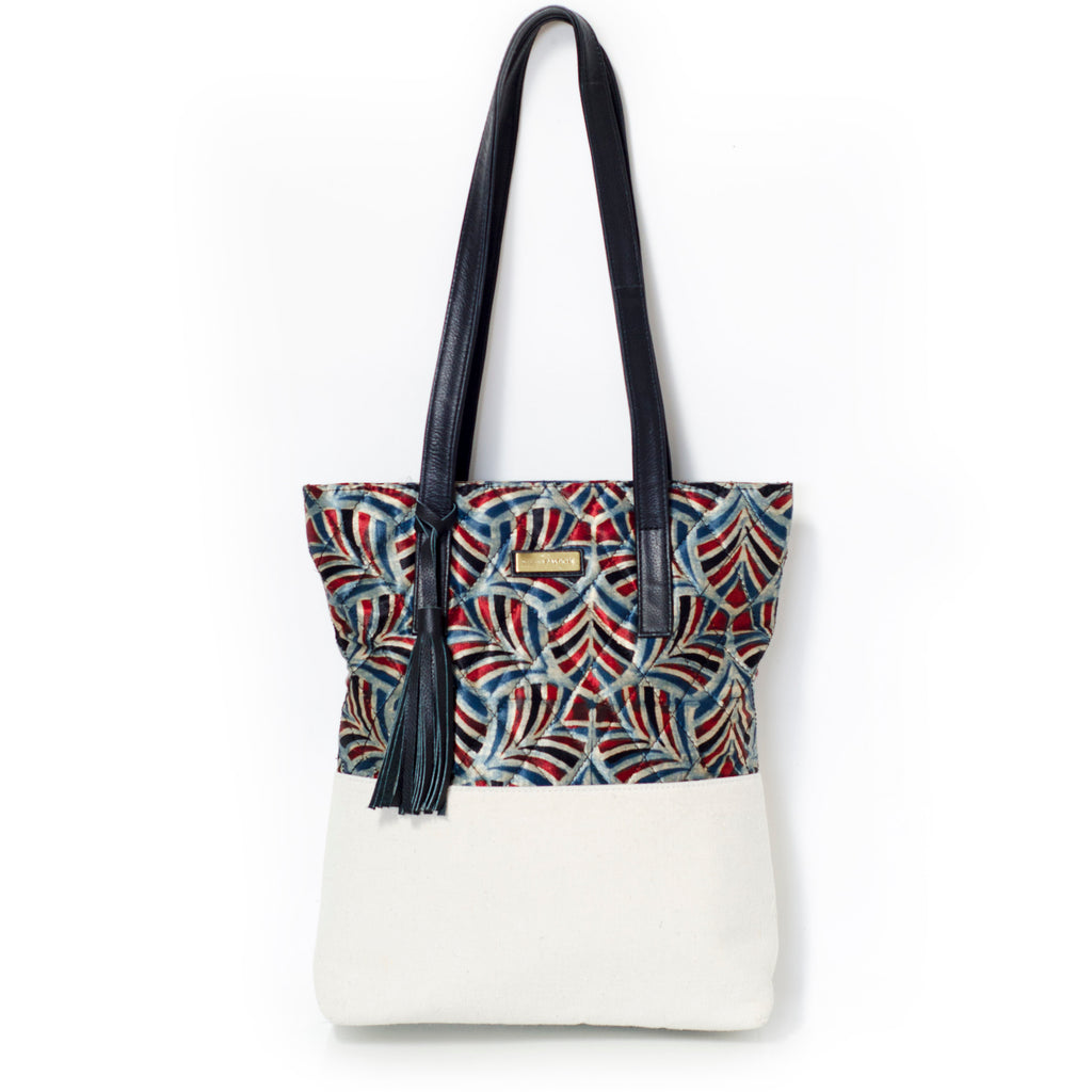Petals of Symmetry Tote