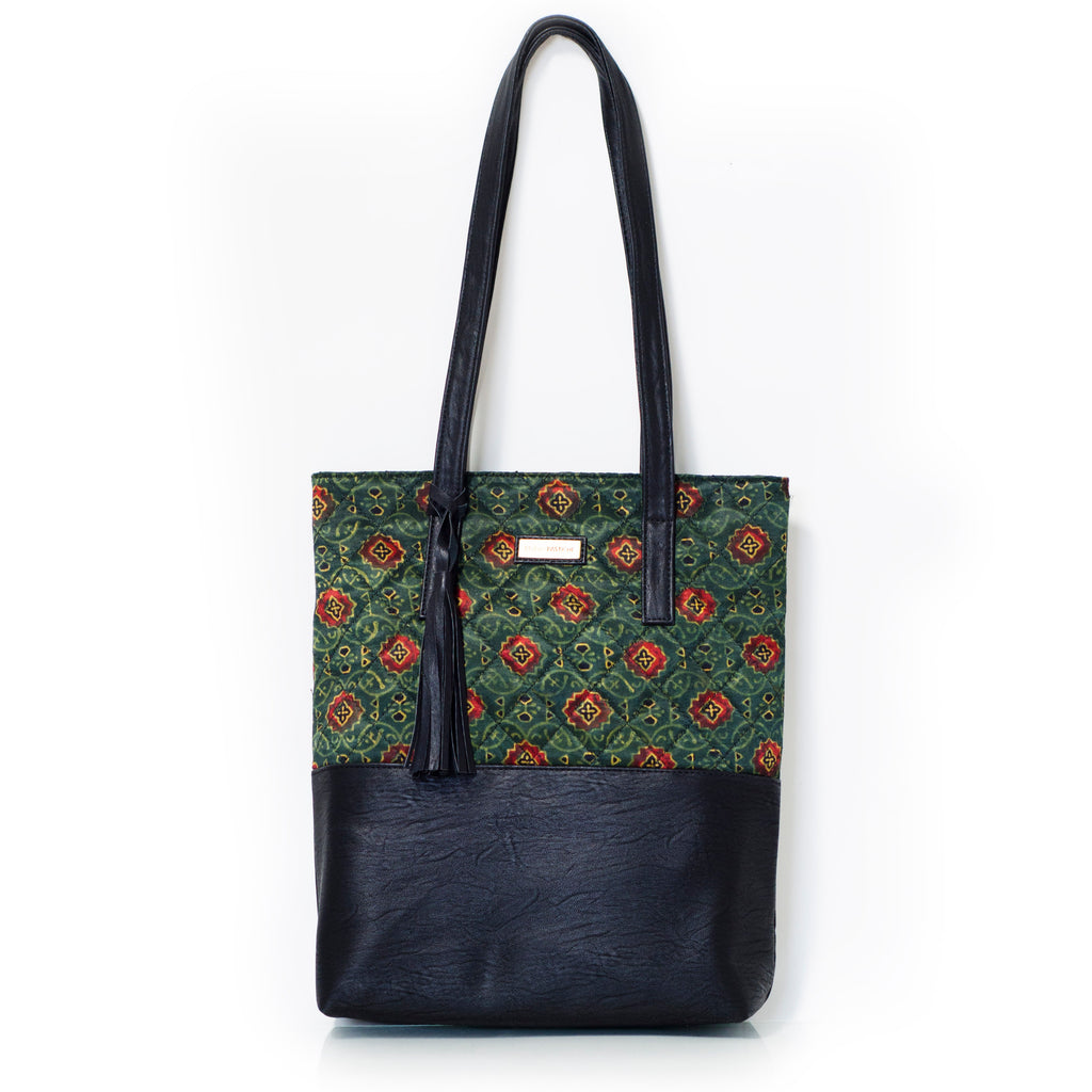 Vegan Leather Holly Tote