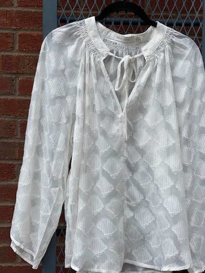 Willow Blouse- Pearl