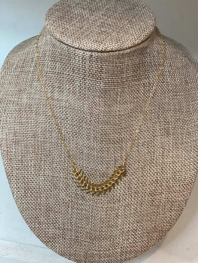 Melissa Necklace 14k Gold- Agapantha Jewelry