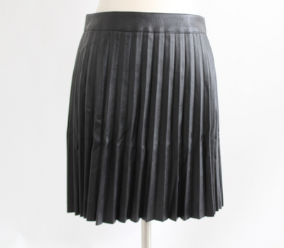 Stacked Faux Mini Skirt