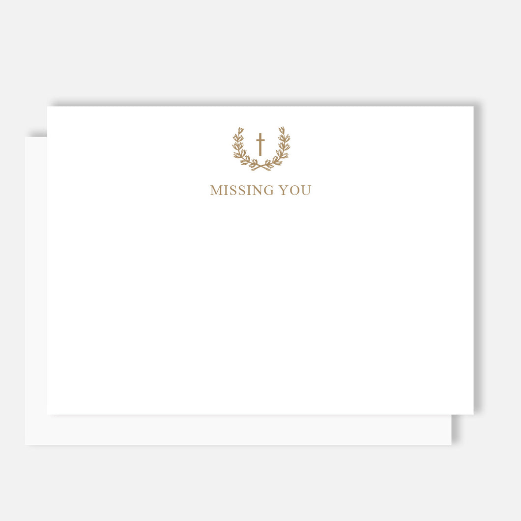 Missing You Note Set