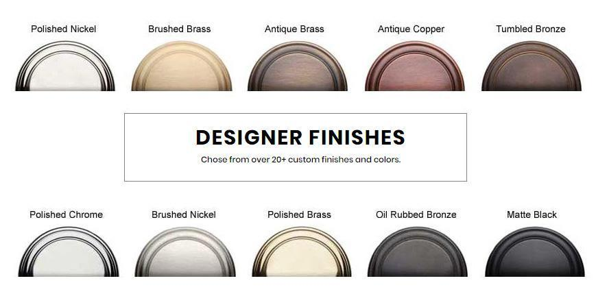 Designer Finishes at DesignerHardware.com