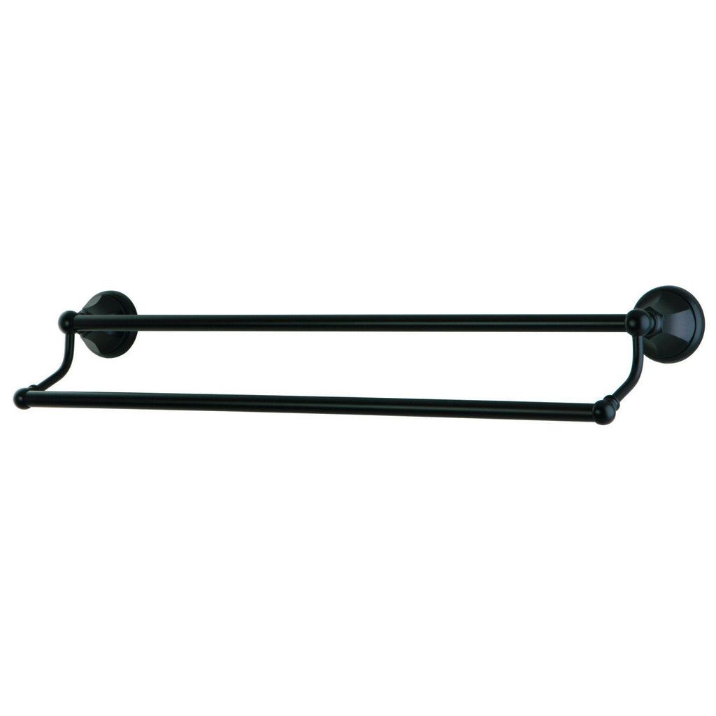 "Water Onyx 24"" Dual Towel Bar"