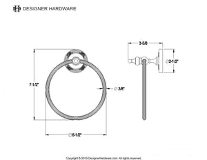 Templeton Towel Ring