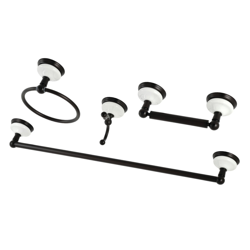 Victorian 4-Piece Bathroom Hardware