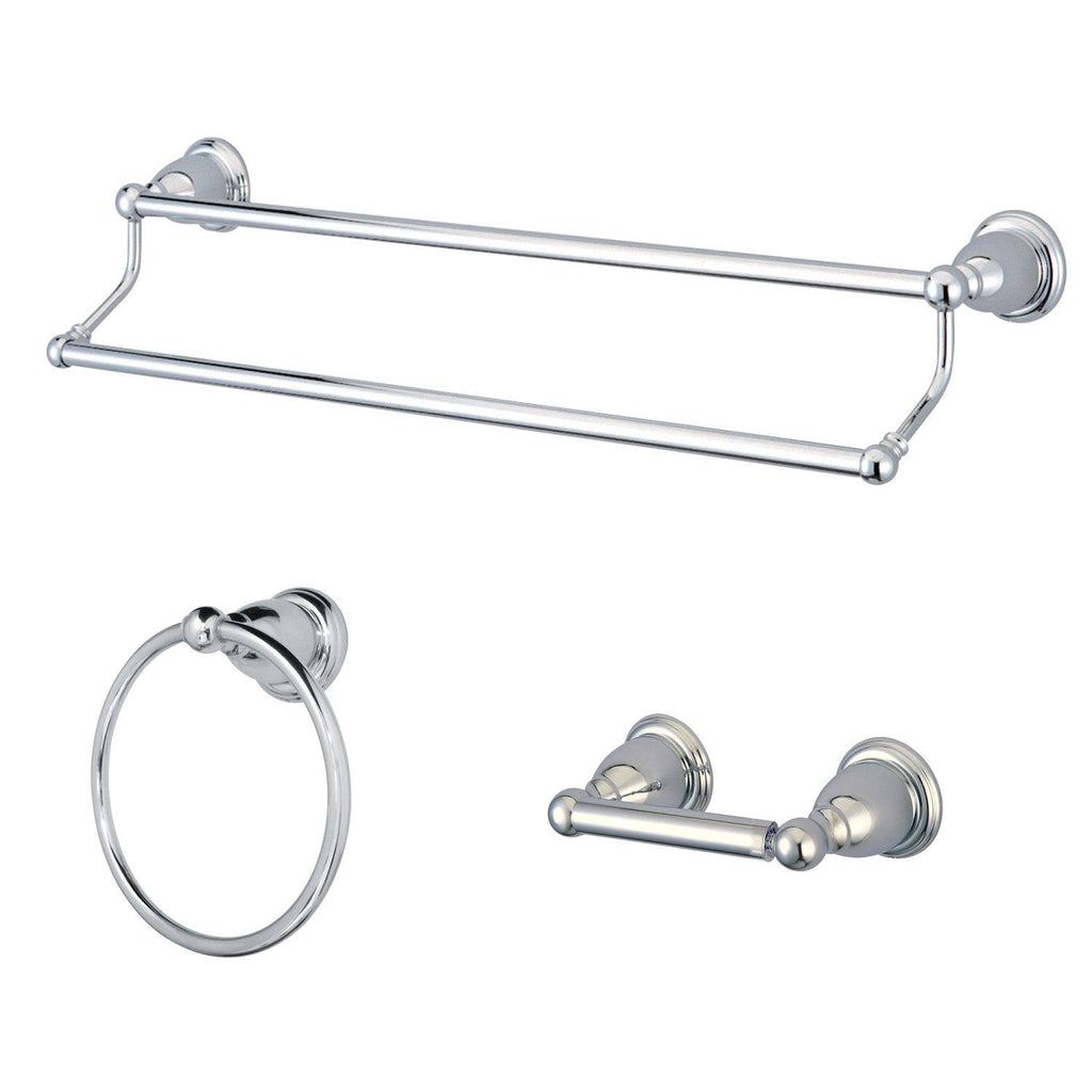 Heritage 3-Piece Bathroom Accessory Set