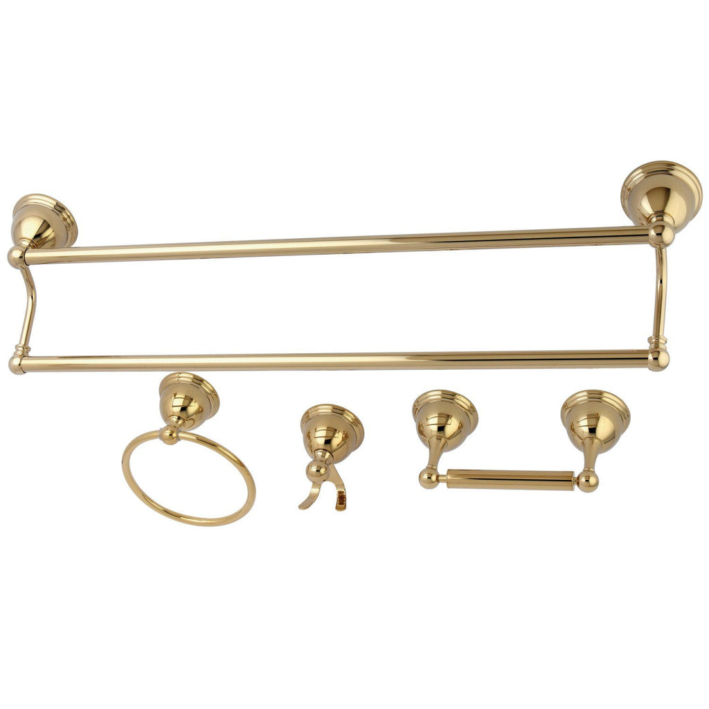 Restoration 4-Piece Bathroom Hardware
