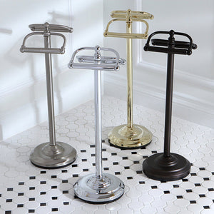 Vintage Freestanding Double Roll Toilet Paper Holder