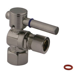 "1/2"" IPS, 1/2"" O.D. Compression Angle Valve"
