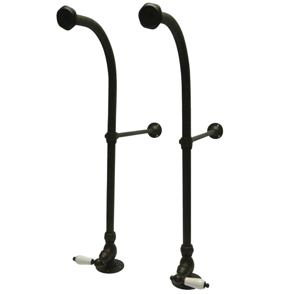 Vintage Rigid Freestand Supplies with Stops - Lever Handles