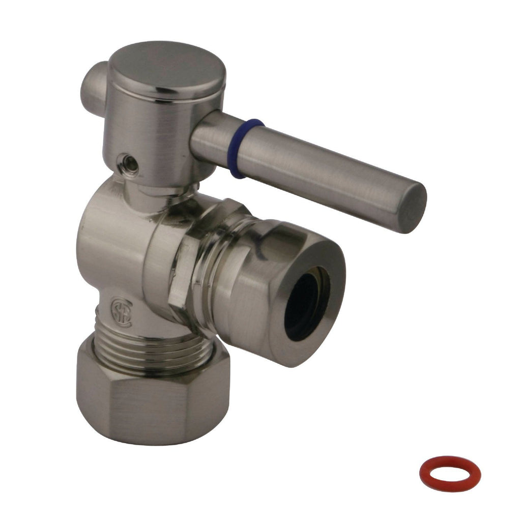 "5/8"" O.D. Compression, 1/2"" or 7/16"""" Slip Joint Angle Valve"