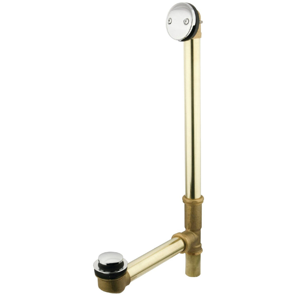 Made to Match Tip-Toe Bath Tub Drain with Overflow