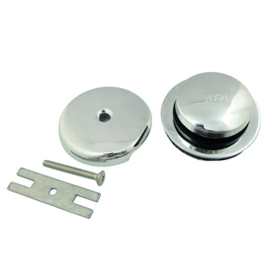 Made to Match Easy Touch Toe-Tap Tub Drain Kit