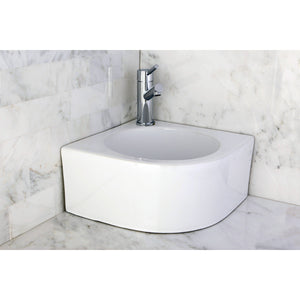 "Manhattan White Vitreous China Bathroom Vessel Sink (L)14-3/16"" x (W)14-3/16"" x (H) 6-11/16"""
