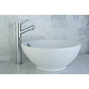 "Perfection White Vitreous China Bathroom Vessel Sink (L)16-1/4"" x (W)16-1/4"" x (H) 6-7/8"""