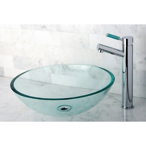 Templeton Tempered Glass Round Vessel Sink