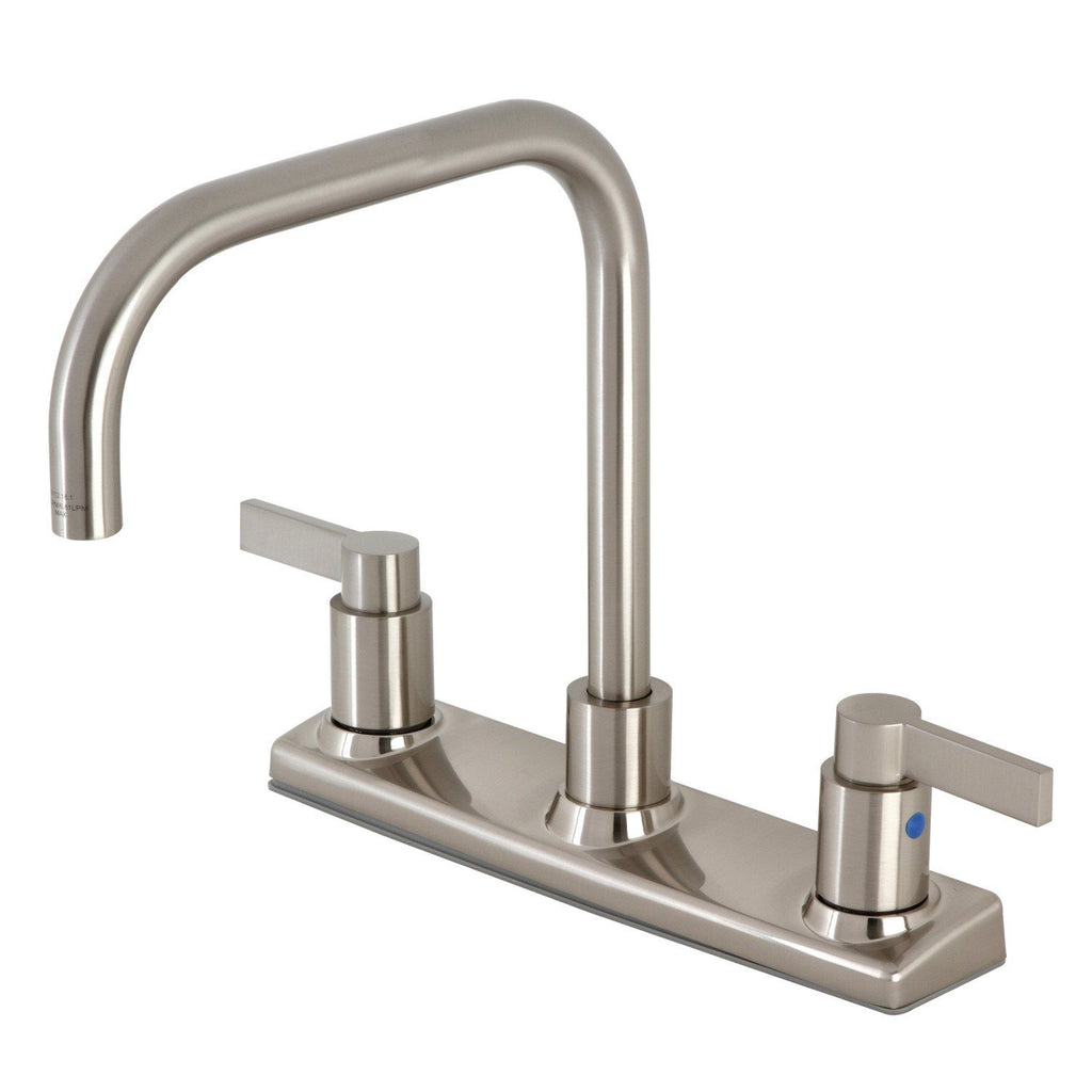 "NuvoFusion Two-Handle 2-Hole Deck Mount 8"" Centerset Kitchen Faucet"