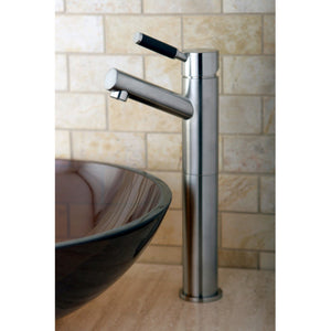 Kaiser Single Handle 1-Hole Vessel Sink Bathroom Faucet w/Metal Lever, 1.2 gpm