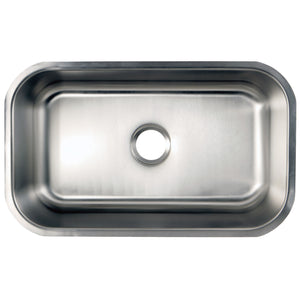 Loft Undermount Single Bowl Kitchen Sink