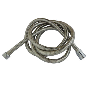 "Complement 63-78"" Double Spiral Stainless Steel Hose"