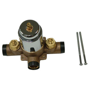 Plumbing Parts Swept Valve Only For Tub & Shower, Polished Chrome