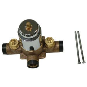 KB3631SWTV Plumbing Parts Swept Valve Only For Tub & Shower, Polished Chrome